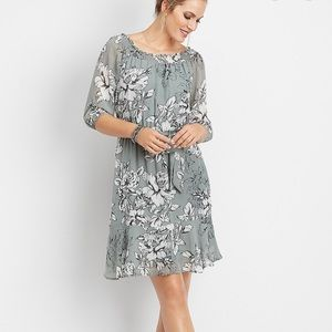 NWT Maurice's off the shoulder floral dress